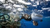 droni satelliti rifiuti oceano